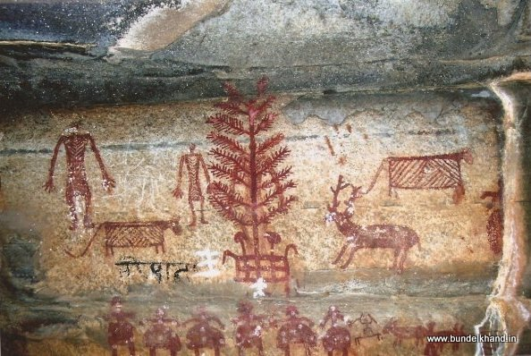 Rock Painting - Leather Cloths, trees.jpg (594×398)