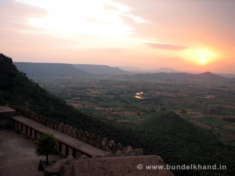 Kalinjar Fort Top View